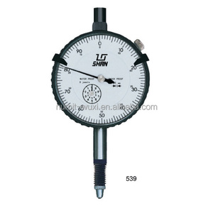Plastic Dial Adjustable Ring 0-10mm Dial Indicator 0.01mm