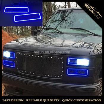 88-98 Gmc Obs Chevy Truck Multi-color Changing Led Shift ...