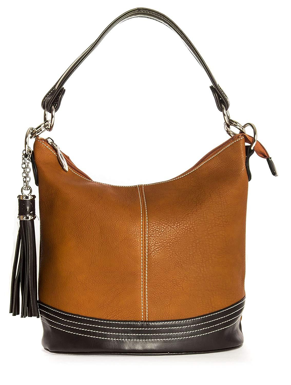 de6a29eaa3f1 Buy Big Handbag Shop Womens Medium Size Plain Multi Pocket Shoulder ...
