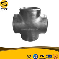 carbon steel pipe specifications medium thread steel pipe Pipe Fittings Seamless&Welded Butt Welding 24 inch&24'' China Cross