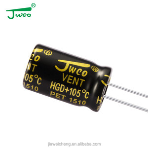 JWCO tantalum capacitor led light emitting electrolytic capacitor