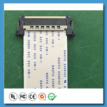 High quality durable customed length flat lcd ribbon cable