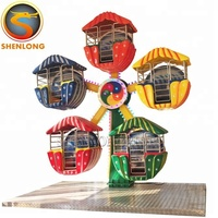 China Suppliers Electric kids amusement park rides mini ferris wheel for sale