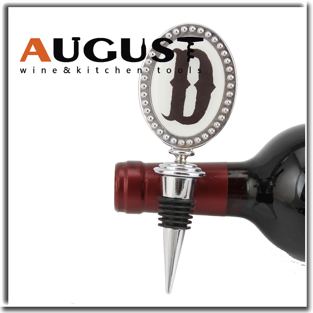 Top level newest costumed wine bottle stopper