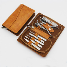 2016 wholesale 9 new nail scissors manicure sets gifts manicure set stainless steel
