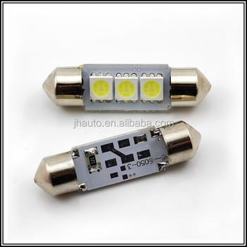 37mm White Festoon C5w Car Led Light 12v Dc Led Interior Lights ...