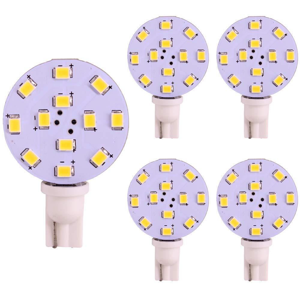 20 X Warm White T10 RV Camper 13SMD 5050 Car LED Light Bulbs 12V W5W 194 921 912