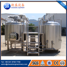 Craft beer brewery 3hl cases beer prices stainless steel beer equipment 300l
