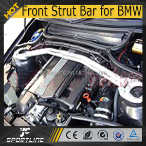 Aluminum E46 Front Strut Balance Bar Fit for BMW E46 98-04