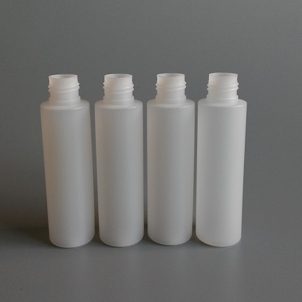 New product 100ml PE cylinder bottle empty PE bottle plastic
