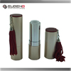 factory supplier aluminum cosmetic lipstick tubes packaging with tassels