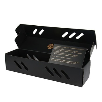 wholesale black hot stamp preserved rose gift box