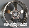 Alloy wheel rims, chrome wheels, 4x4 aluminium wheels for car