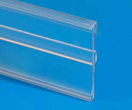 Professional Extruded Price Label Holder for Supermarket Shelf in China