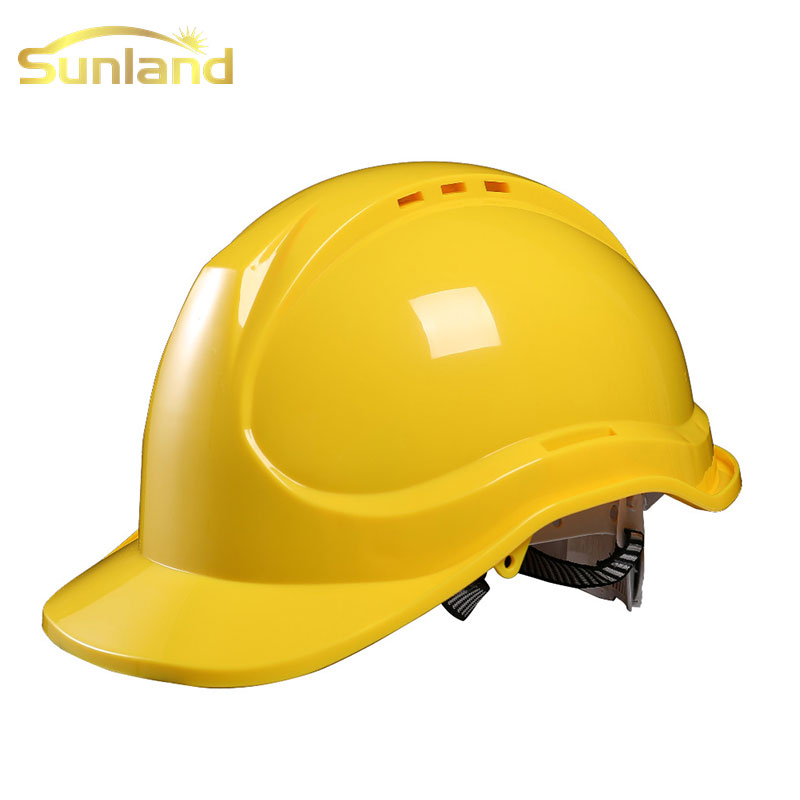New fashion sunland electrical engineering safety helmet description