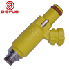 DEFUS 12 holes low MOQ fast delivery yellow fuel injector nozzle 13.8ohm 425CC/Min 40lb/hr fit MX-5 RX-8 2004-2008 195500-4450
