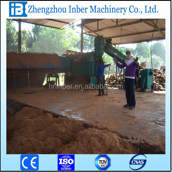 High Quality Coconut Fiber Machine with low cost
