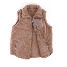 En gros Monogramme <span class=keywords><strong>femmes</strong></span> hiver chaud doux Fourrure Sherpa <span class=keywords><strong>Gilet</strong></span>