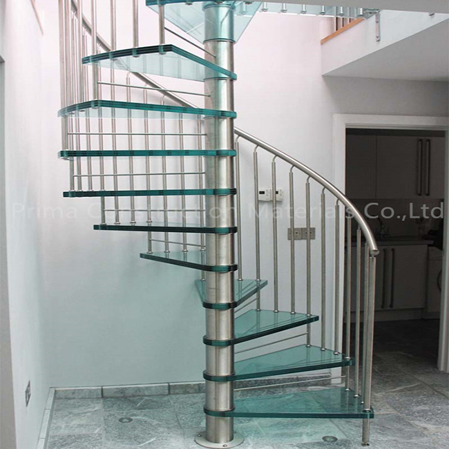 Glass Spiral Staircase Cost, Glass Spiral Staircase Cost Suppliers And  Manufacturers At Alibaba.com
