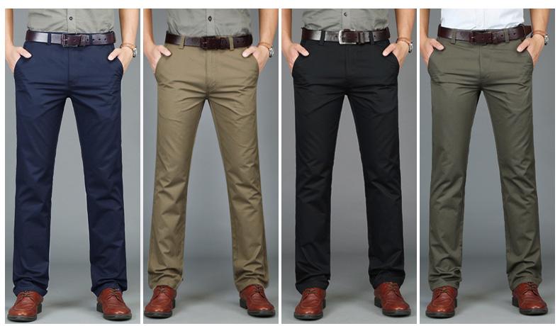 Oem Pantalones De Algodon Para Hombre Ropa Masculina Informal Estilo Chino Buy Pantalones Chinos Hombres Pantalon Pantalon De Algodon Pantalon De Tela Product On Alibaba Com