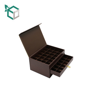 Extra Link Custom Made Hot-stamping Magnetic Gift Boxes Packaging