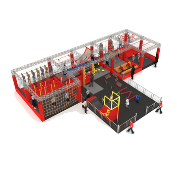 ASTM&TUV Standard Indoor Adult Obstacle Course American Ninja Warrior Course