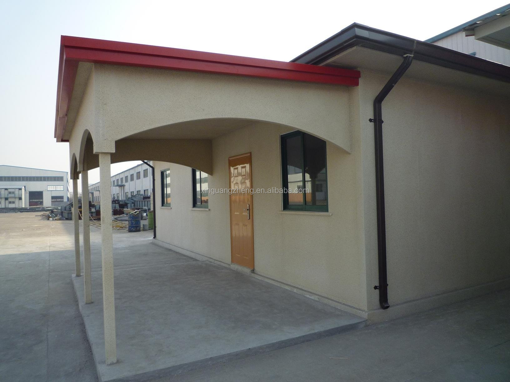 Sandwich Panel Prefab Houses Convenient Installation Small Building ...