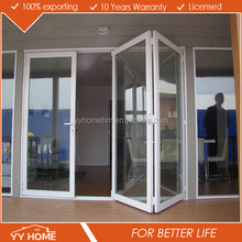Double glazing high quality AS Standard manufacture aluminum folding door mechanism
