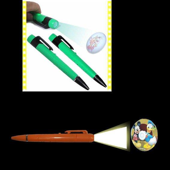 LED pen light for medical use nursing pen light with ruler and pupil size comparation
