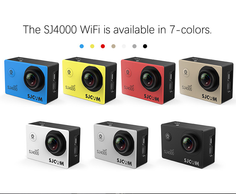 1080P action camera wifi outdoor sports camera 2.0 inch LCD screen waterproof sport action camera