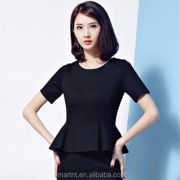 30cf2a1c5 Personalizado Traje Mujer Split Falda Para Mujer Oficina Señora Uniforme De  Trabajo - Buy Split Split Falda Para Mujer,Oficina Señora Trabajo ...