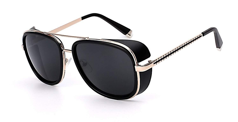 08c93ad754 Get Quotations · Square Sunglasses Men Brand Designer Sunglass Vintage  Retro Superstar Fashion Glasses Oculos UV400