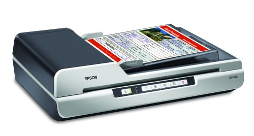 Epson WorkForce GT-1500 Document Image Sheet-Fed Scanner with Automatic Document Feeder (ADF) (B11B190011)