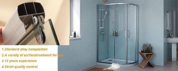 Customized aluminium extrusion profiles for shower enclosures & Customized Aluminium Extrusion Profiles For Shower Enclosures ... pezcame.com