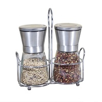2019 NEW Wholesale premium pepper and salt grinder set salt pepper grinders