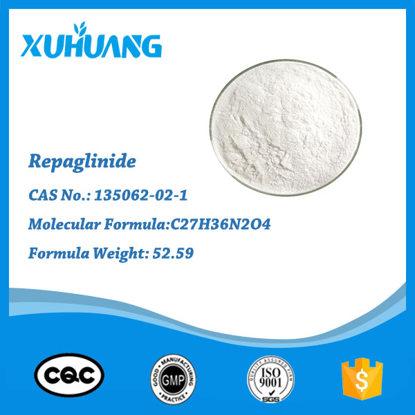 chemicals Repaglinide CAS 135062-02-1 for Blood System Agents