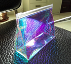 Promotional holographic cosmetic bag, factory provide make-up bag