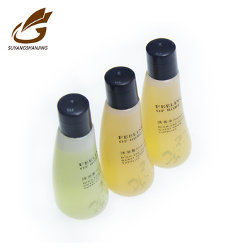 Hot sale cheapest mini shampoo bottle hotel amenities set Free Sample