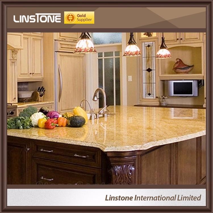 Import Indien Kashmir Gold Granit Laminat Kuchenarbeitsplatte Buy