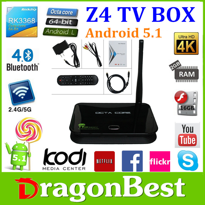 The Best Media Streamer For Watching Live Stream On The Internet Is Z4 Stream Free Tv Box Rk3368 Octa Core