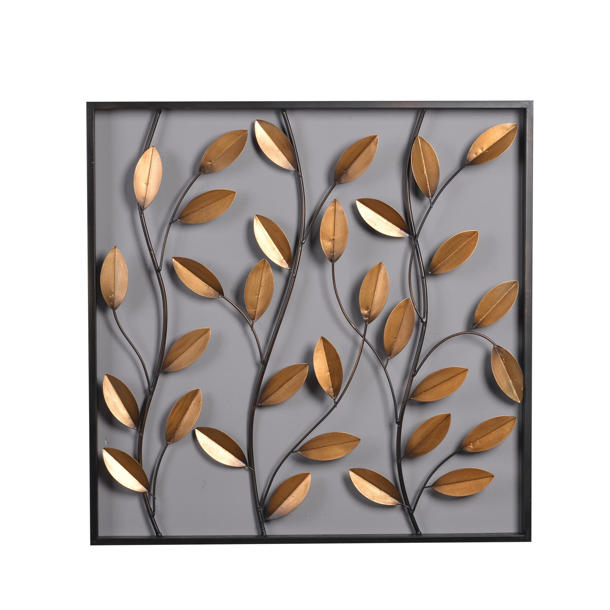 Metal Leaves Wall Decor Part - 20: Mayco Framed Leaves Wall Decor Panel, Wholesale Garden Decoration Metal  Leaf Wall Art Product Details