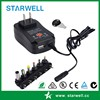 International Standard Power Supply with Multi Voltage DC output and DC plug 3V-12V wall plug in with dual output 5V2.1A USB