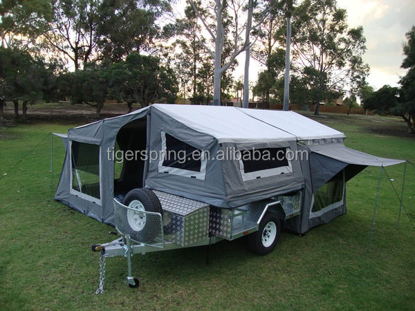 Luxury Leisure Portable Camping Trailer Tent For 7x4 And