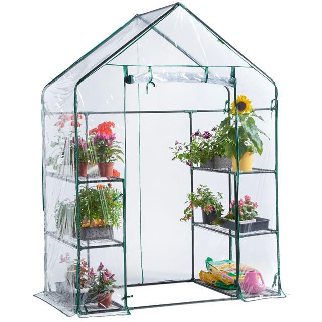 Pequeño Jardín Interior Walik in Pvc Pe Marco Recubierto Invernadero Para Flores Buy Invernadero De Jardín A La Venta,Mini Invernadero De Jardín De