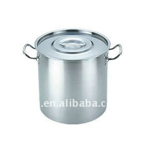 New style large stainless steel restaurant commercial soup pots