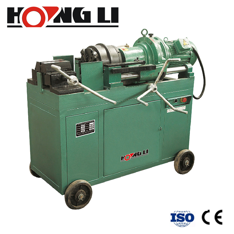 Factory Sale Construction Steel Bar Processing Machinery Rebar Thread Rolling Machine (HL-40F)