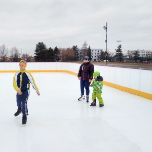 High Density PE material cheap synthetic ice for ice rink