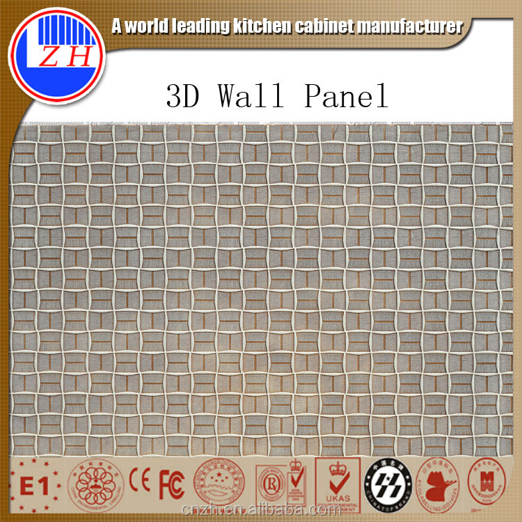 Suitable for outdoor applications embossed decorative 3d wall panel
