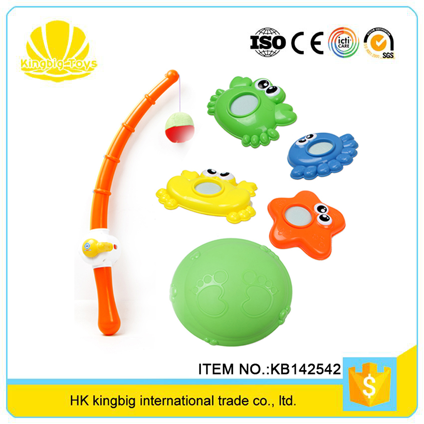 most popular products kids funny plastic rods fishing toys set from china factory