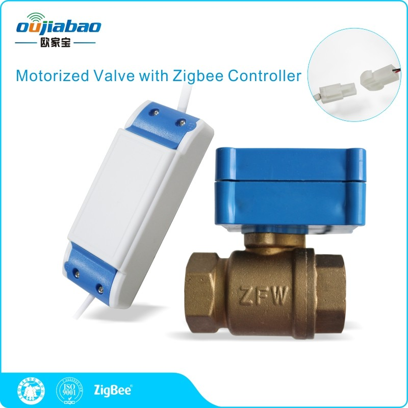 Wireless Smart Device Shutoff Valve Zigbee Water Valve